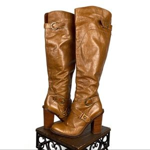 Boutique 9 Charissa Over The Knee Leather Boots